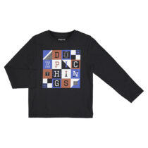 Mayoral L/s lurex letters shirt coal 4051