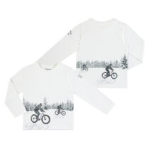 Mayoral L/s Reflective t shirt off white 4049