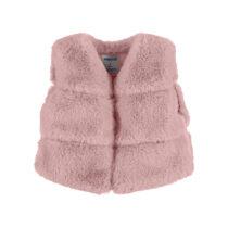 Mayoral fur vest blush 4351