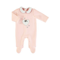 Mayoral padded onesie baby rose 2625