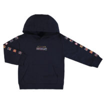 Mayoral flags pullover with hood navy 4459