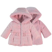 Mayoral reversible fur jacket rose 2412