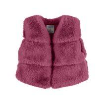 Mayoral fur vest cherry 4351