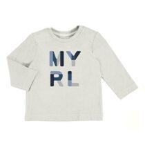 Mayoral L/s basic t shirt cream 108