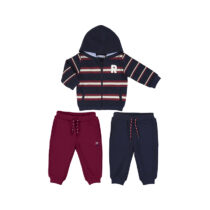 Mayoral mixed stripes tracksuit Bordeaux 2887