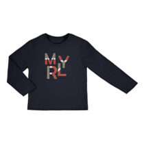 Mayoral L/s basic t shirt navy 173